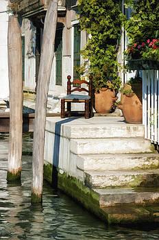 Canal Steps by Jen Morrison