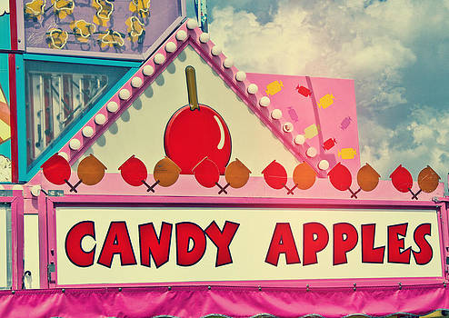 Candy Apples Carnival Vendor by Eye Shutter To Think
