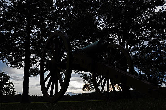 Cannon At Shiloh by Timothy Johnson