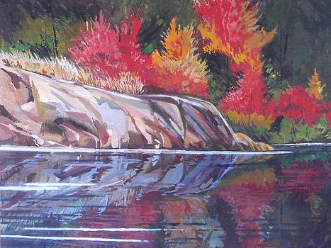 Canoe View by William Band