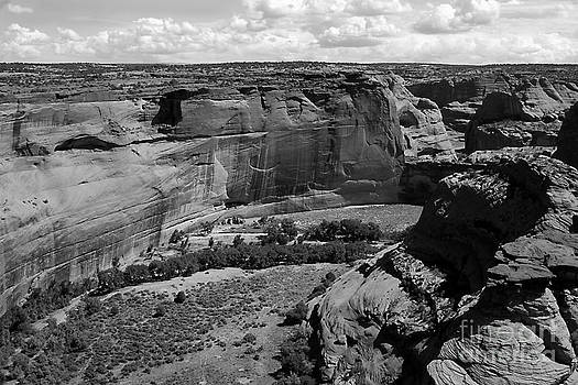 Canyon de Chelly White House by Barry Shaffer