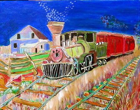 Carillon Grenville Engine Train by Michael Litvack