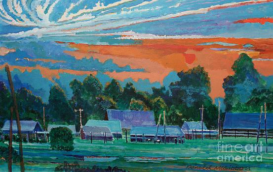 Carlton Ranch in Texas by Donald McGibbon