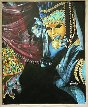 Carnival mask by Nicu Alina