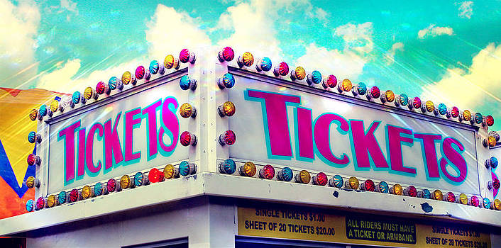 Carnival Ticket Sign by Eye Shutter To Think
