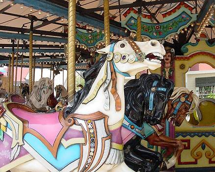 Carousel Horse by Carol Phipps