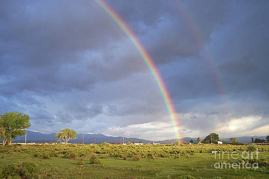 Carson Valley Double Rainbow by Maureen Ida Farley
