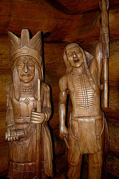 LeeAnn McLaneGoetz McLaneGoetzStudioLLCcom - Carved American Indians