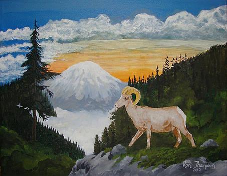 Cascade Ram by Ron Thompson