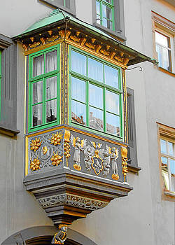 Christine Till - Casement Window into Weimar
