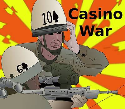 Casino War Snipers by Casino Artist