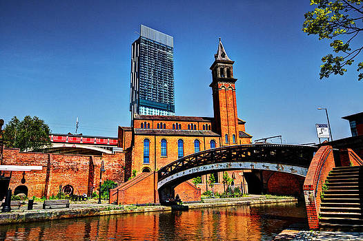 Castlefield Manchester by Sandra Pledger