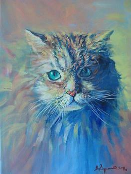 Cat by Supot Pimpan