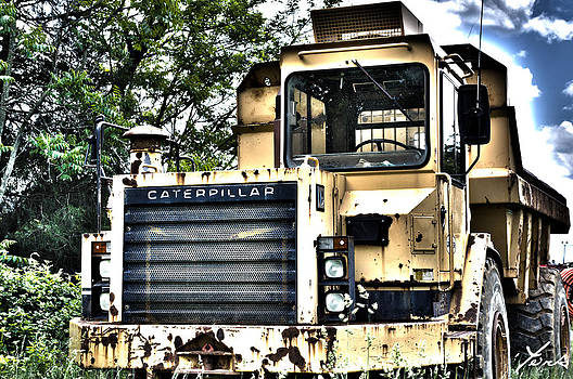 Caterpillar's Front by Shane York