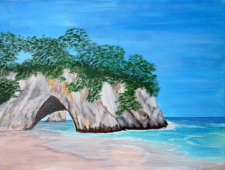 Cathedral Cove III by Nancy Nuce