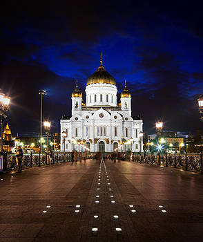 Cathedral of Christ the Savior. Moscow 2011 by Eduard Kraft
