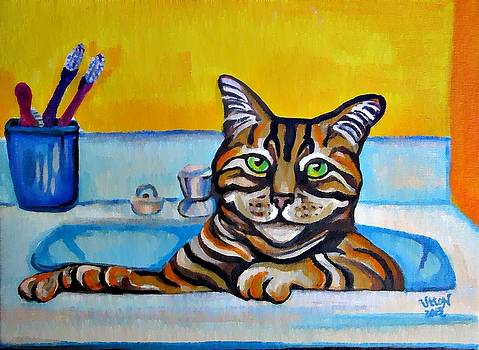 Catturday Spa by Pam Utton