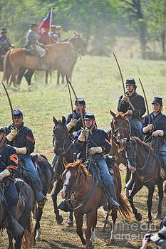Cavalry Salute by Alan Crosthwaite