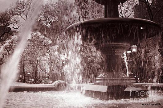Center Fountain by Amanda McIntyre