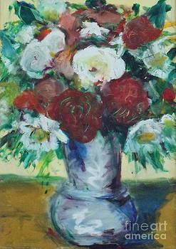 Cezanne meets Interflora by David Abse
