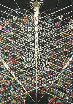 Chakra Arising Outside The Grid by Lynda  Richardson