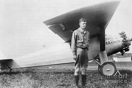 Photo Researchers - Charles Lindbergh American Aviator
