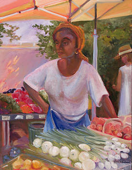 Charleston Market Place by Jane Woodward