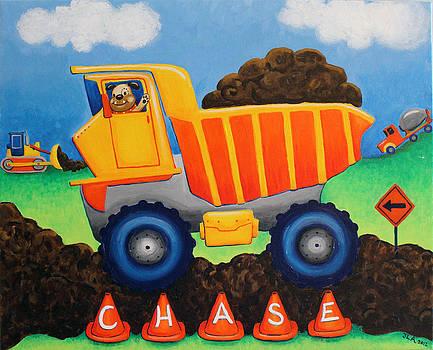 Chase's Truck by Jennifer Alvarez