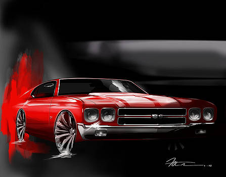 Chevelle 70 by Fred Otene