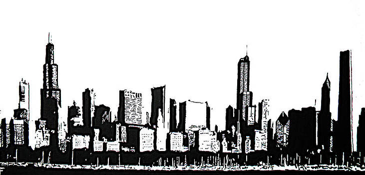 Chicago Skyline by Matthew Formeller