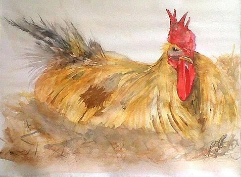 Chickens I. by Paula Steffensen