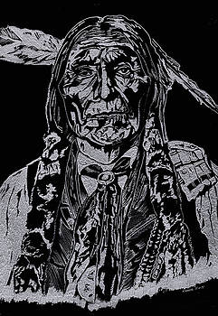 Chief Wolf Robe by Jim Ross