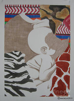 Child of Africa by Amanda McIntyre