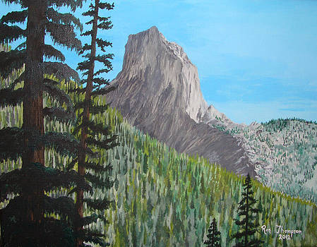 Chimney Rock by Ron Thompson