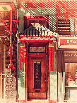 Wingsdomain Art and Photography - Chinatown Door . 7D7406