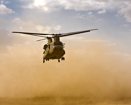 Chinook 3 by Michael Carrigan