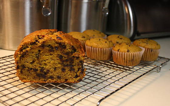 Anne Babineau - chocolate chip pumpkin bread