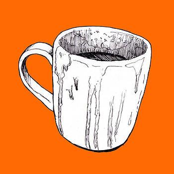 Chocolate Mug by Di Fernandes