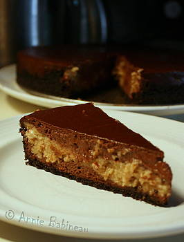 Anne Babineau - chocolate peanut butter cheesecake