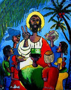 Christ Teaching by Omenihu Amachi