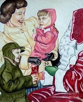 Christmas 1953 by LJ Newlin