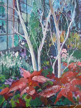 Christmas a Longwood Gardens by Carol Mangano