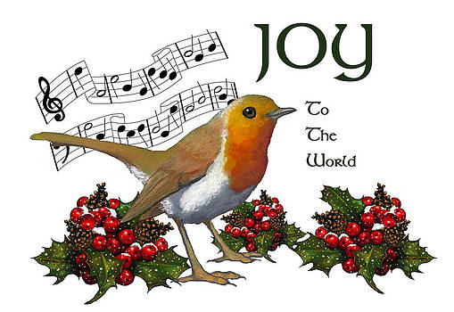 Joyce Geleynse - Christmas Robin