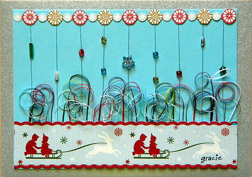 Christmas Sled by Gracies Creations