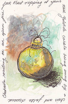 Chrristmas Song Ornament by Michele Hollister - for Nancy Asbell
