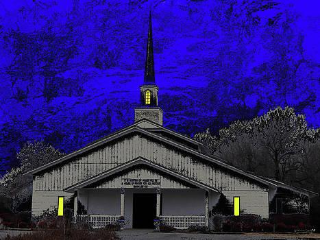 Church Lights by Linda Deal