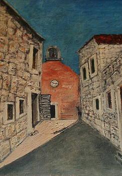 Church Saint John Najeva Strada by Mladen Kandic