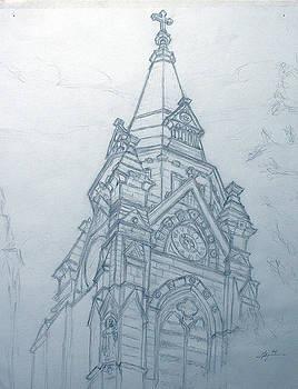 Church Steaple by Robert Fenwick May Jr