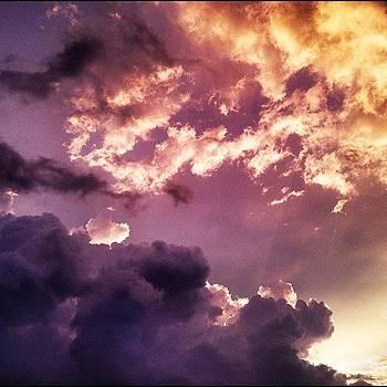 Cielitolindo #sky #clouds #hdr #sunset by Maura Aranda