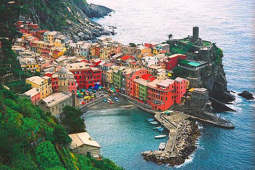 Cinque Terre by Claude Taylor